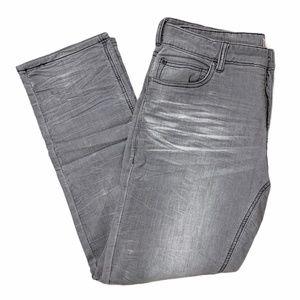 INC International Concepts Gray Slim Jeans 32x30